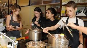 בישול עם ילדים