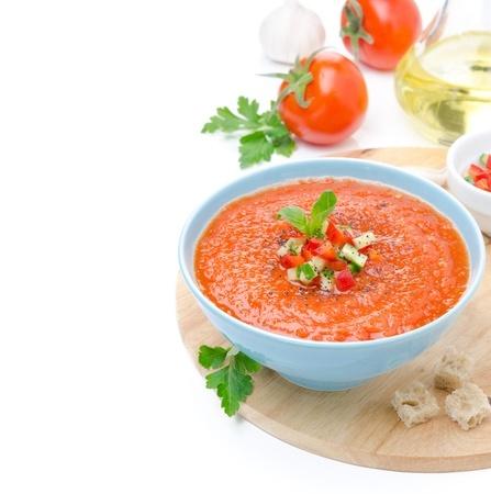 גספצ'ו - מרק עגבניות קר